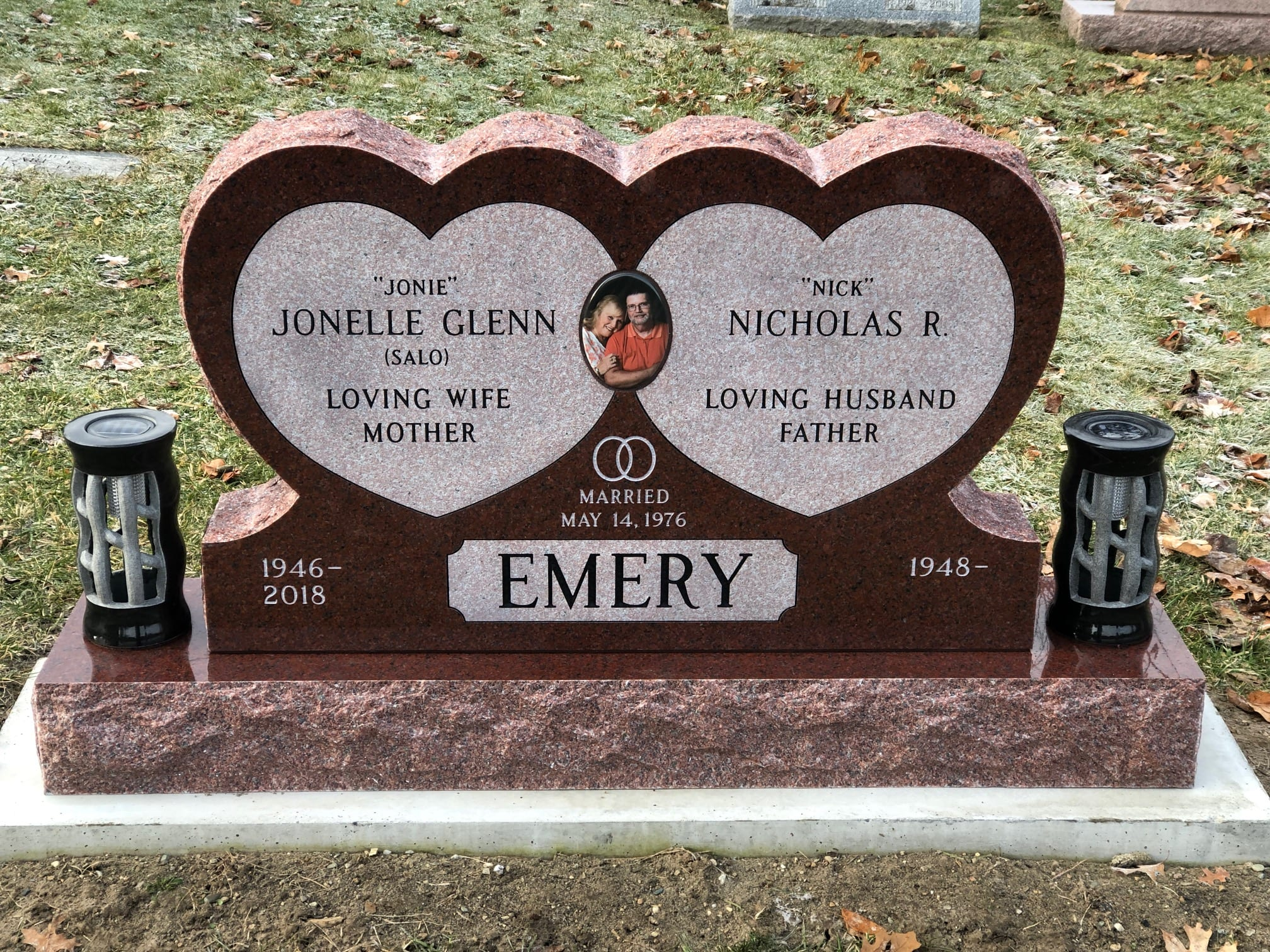 Specialty Grave Marker